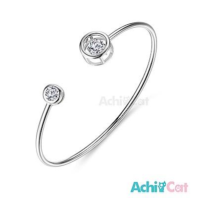 AchiCat 925純銀 跳舞的手環 告白氣球 跳舞石