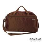 AOKANA奧卡納 MIT台灣製造 輕量防潑水中型旅行袋(咖啡)03-009