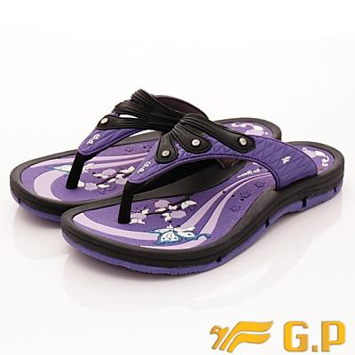 GP時尚涼拖-排水夾腳拖鞋款-SI882W-41紫(女段)