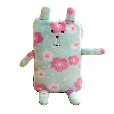 CRAFTHOLIC 宇宙人 奈良雪花兔造型毛毯