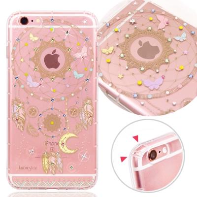 KnowStar APPLE iPhone6/6s 奧地利水晶彩繪防摔氣墊手機鑽...