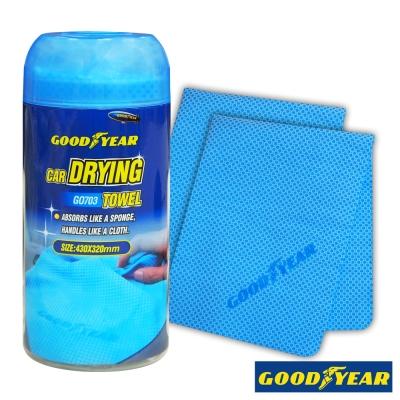 [快]Goodyear 固特異萬用吸水巾-GO703-2入