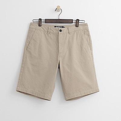 Hang Ten - 男裝 - 百慕達休閒短褲-卡其色