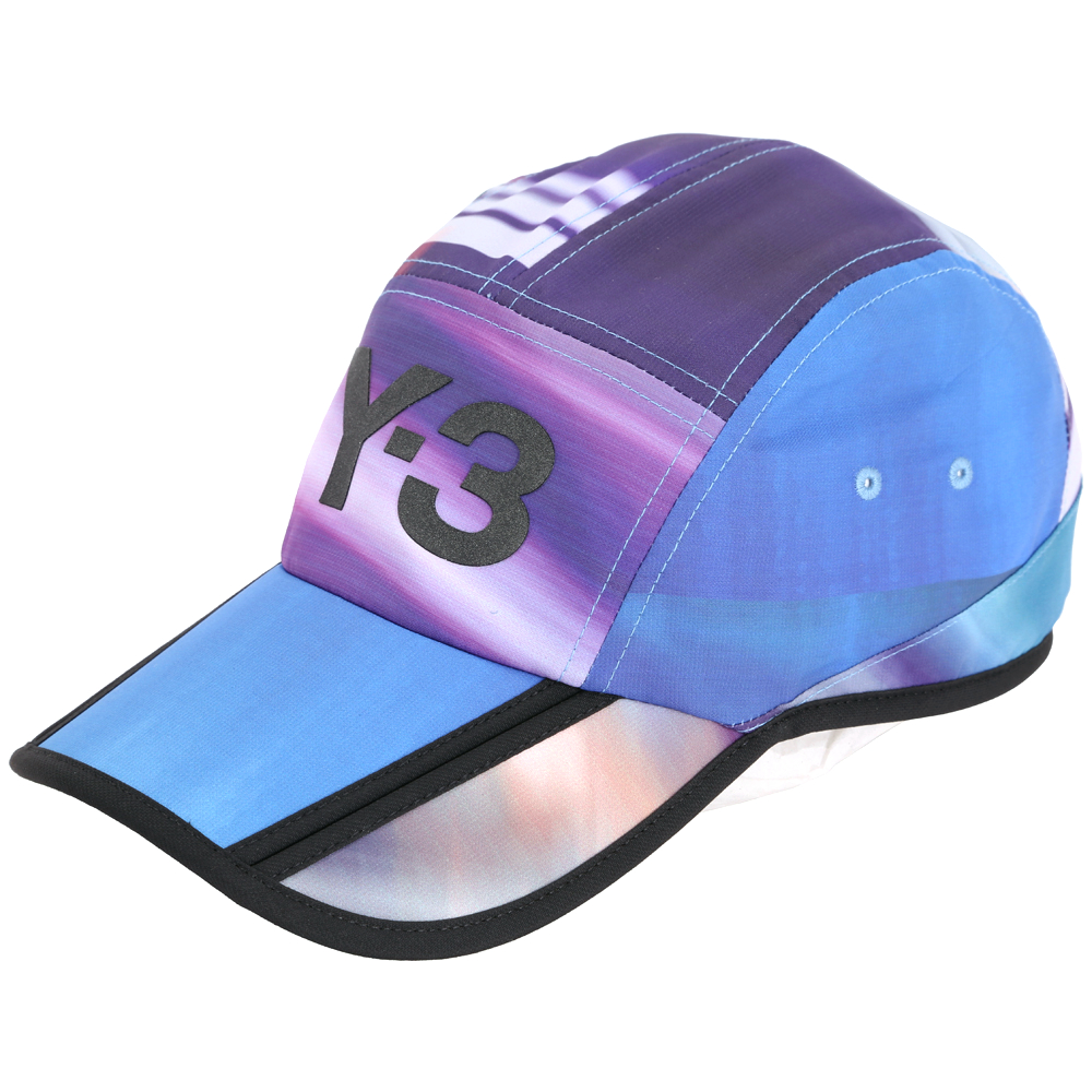 Y-3 AOP 渲彩拼接棒球帽