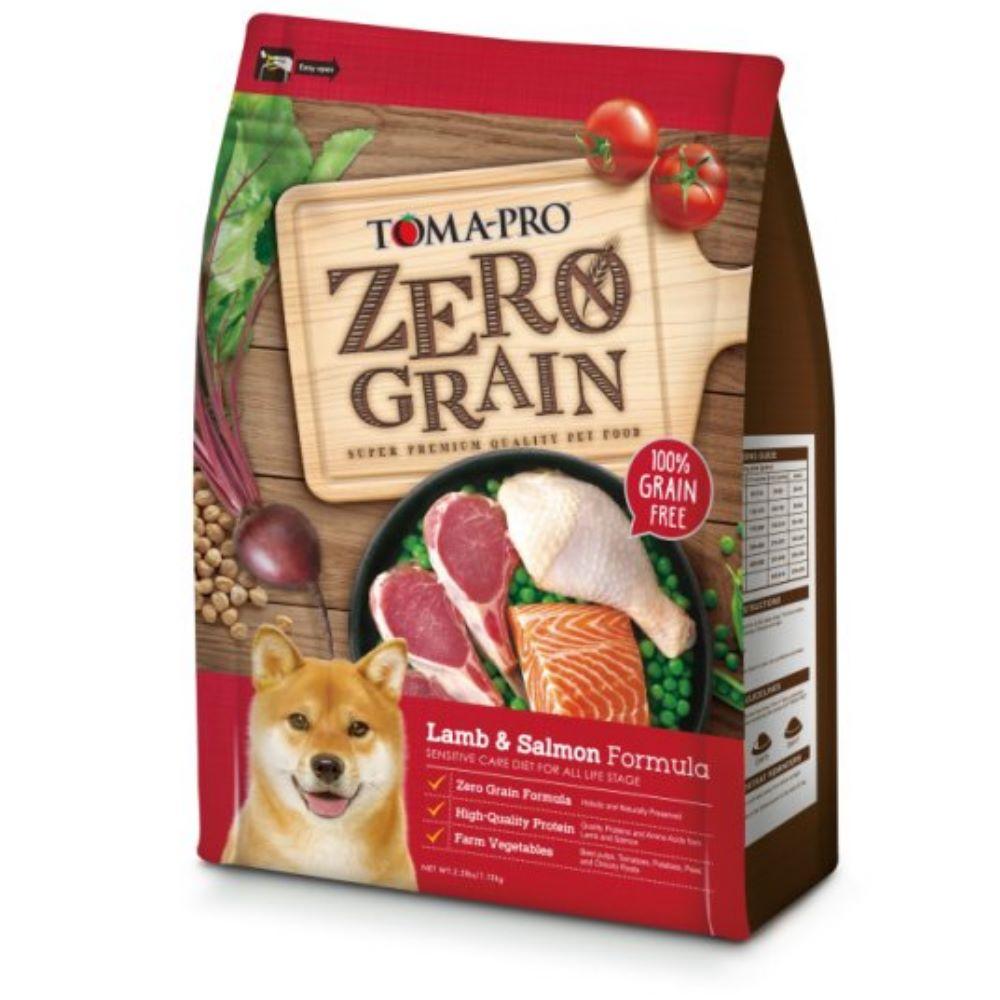 優格 天然零穀 ZEAOGRAIN 羊肉鮭魚敏感 犬用配方 15磅