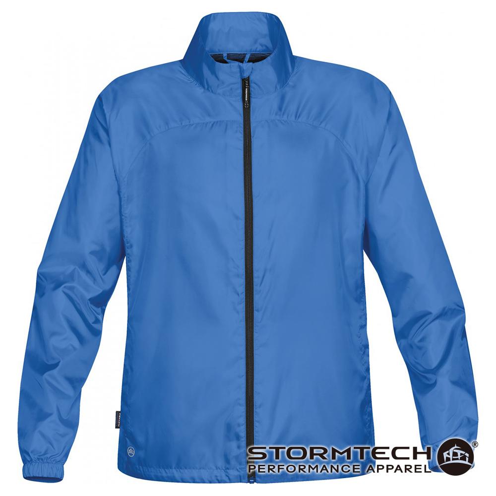 【加拿大STORMTECH】輕量防風防水旅行外套PXJ-2-男-水藍