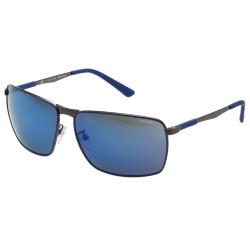 POLICE - 休閒款 水銀藍 太陽眼鏡 (槍色)PE-SPL345