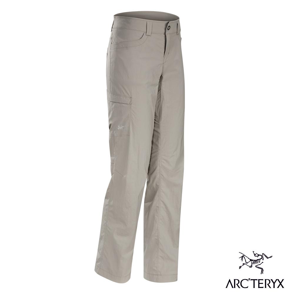 Arcteryx 始祖鳥 女 Parapet 快乾長褲 褐