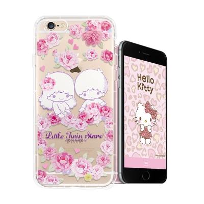 三麗鷗授權 kikilala雙子星 iPhone 8/iPhone 7 空壓手機...