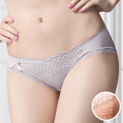 華歌爾-極塑衣美背減壓M-LL中低腰三角褲-蜜粉橘