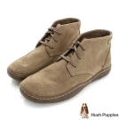 Hush Puppies FINNIAN 綁帶踝靴-褐色