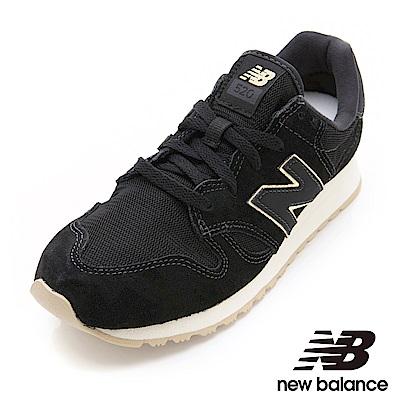 New Balance復古鞋 WL520MR-B 女性 黑色