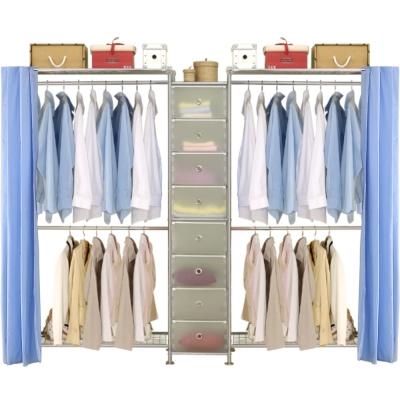 巴塞隆納─W2型90+D+W2型90衣櫥置物櫃