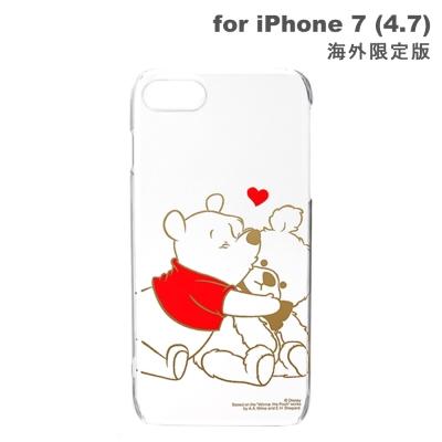iJacket-iPhone-7-4-7吋-小熊維尼-金箔-硬式手機殼海外版