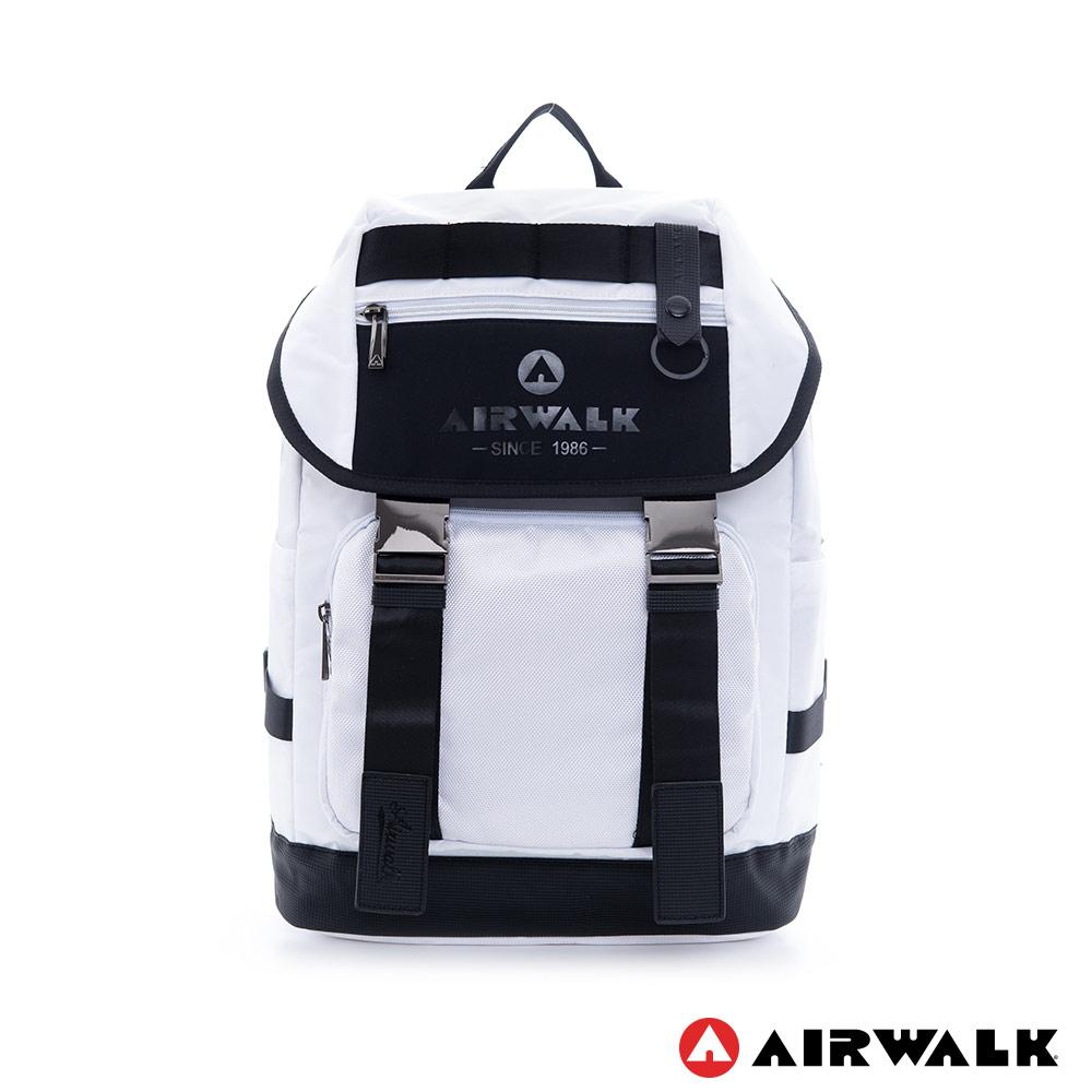 美國AIRWALK韓式時尚休閒筆電後背包