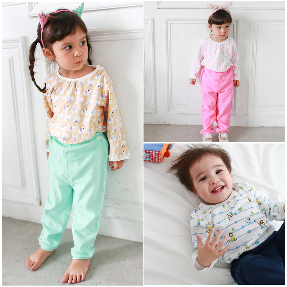 baby童衣 寶寶衣服套裝 棉質長袖卡通衣褲50552