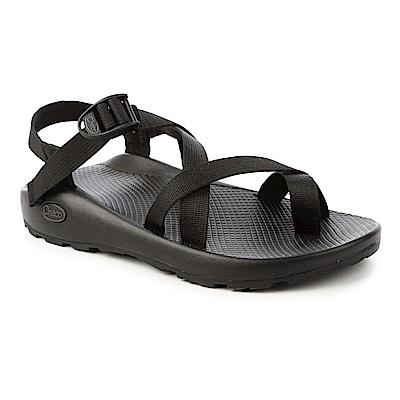 美國Chaco。男 越野運動涼鞋-夾腳款CH-ZCM02H405(黑)