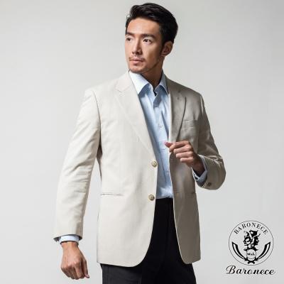 BARONECE 英式都會休閒時尚獵裝 淺米色(509319-05)