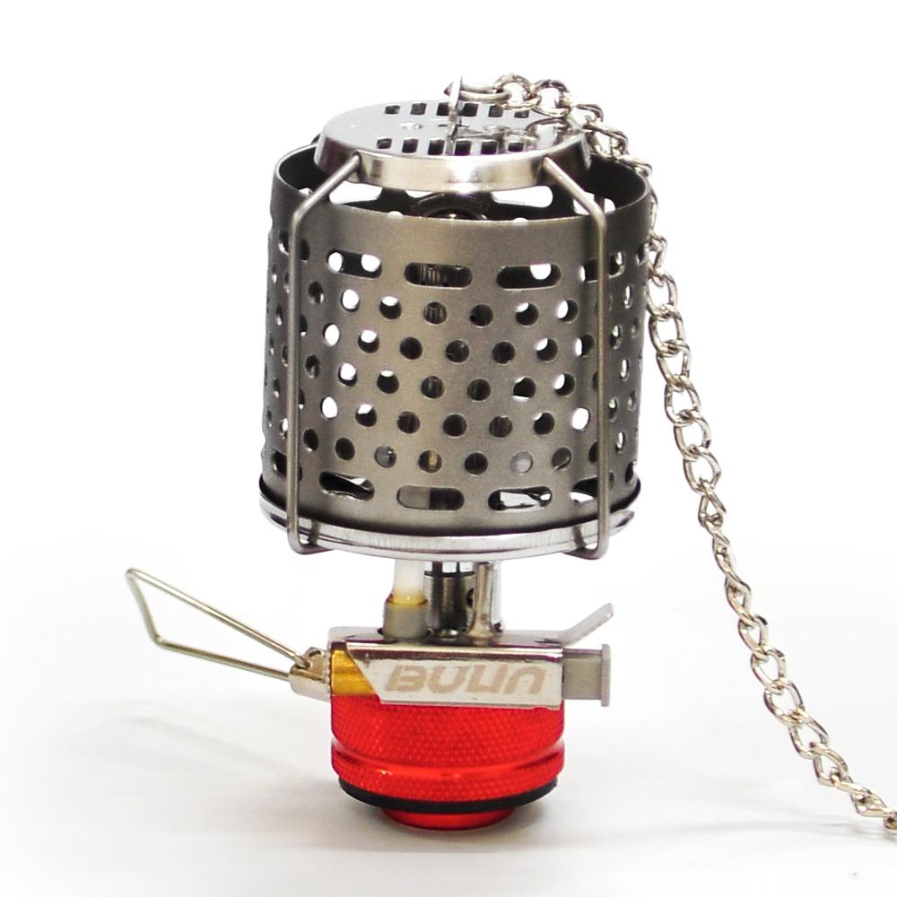 步林BULIN 迷你型野營戶外瓦斯燈-金屬燈罩