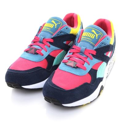 PUMA-R698 Block男慢跑鞋36003006-多彩