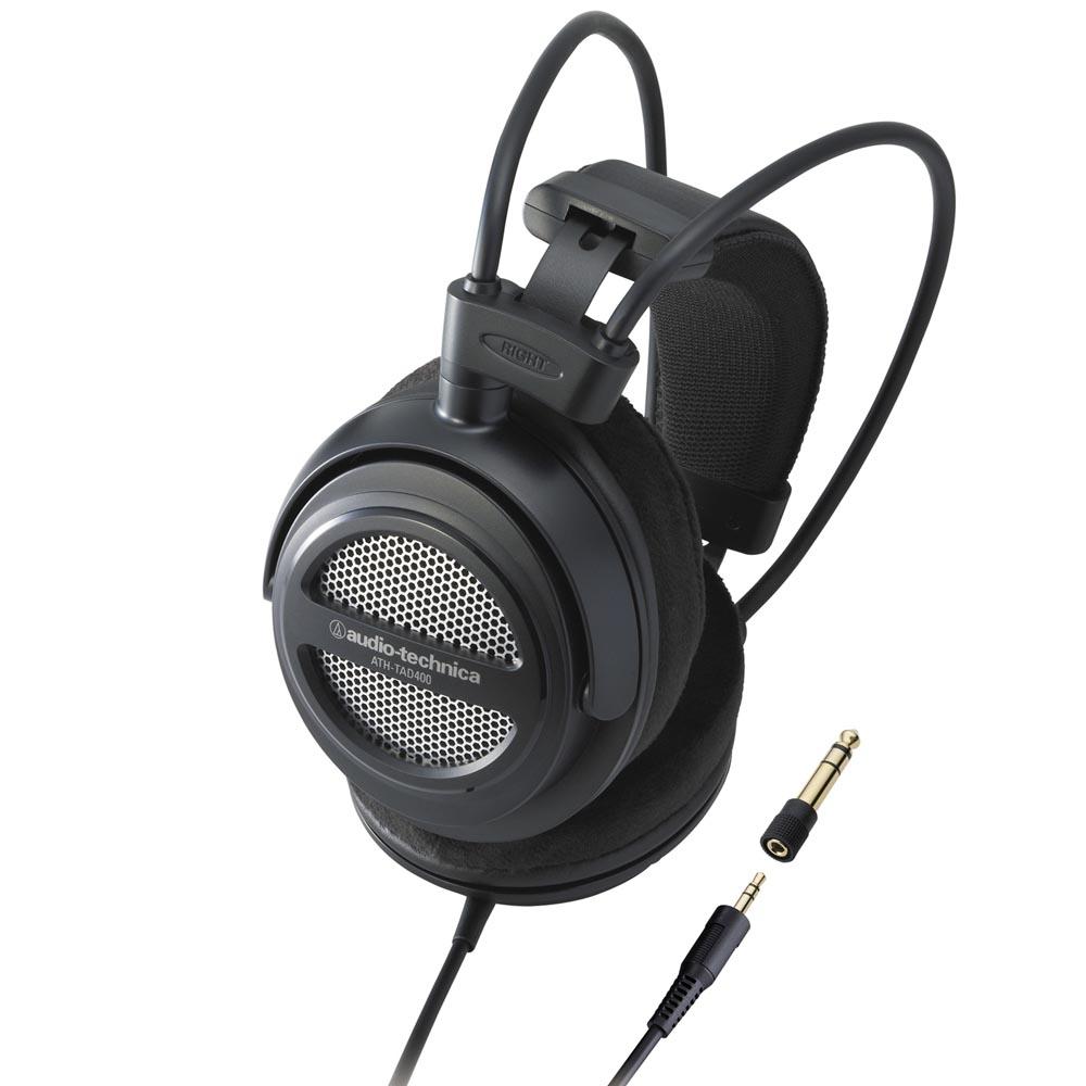 鐵三角 ATH-TAD400  鋁合金耳罩式耳機