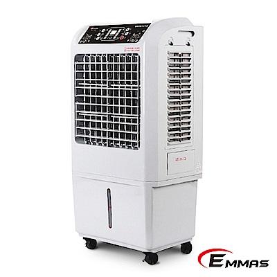 [福利品]EMMAS負離子移動式空氣降溫水冷扇 SY-158