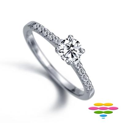 彩糖鑽工坊 19分鑽石戒指 愛情漫步系列