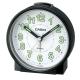 CASIO 桌上圓型指針款鬧鐘(TQ-228-1)-黑x白面 product thumbnail 1