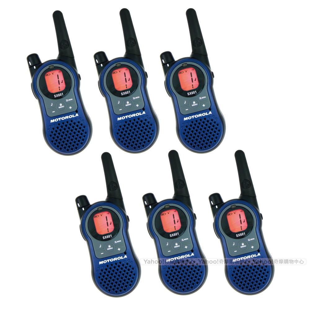 MOTOROLA SX-601無線電對講機(六支裝)