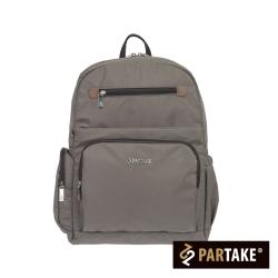 PARTAKE-B2都會休閒生活系列-後背包-灰-PT16-B2-82GY