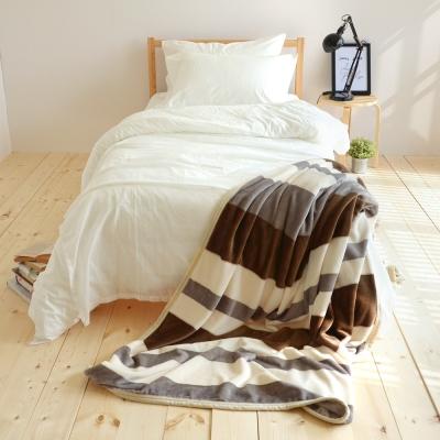 絲薇諾 哲學之線 145×200cm法蘭絨毯包邊四季毯
