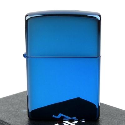 【ZIPPO】美系~超質感Sapphire藍寶色鏡面打火機