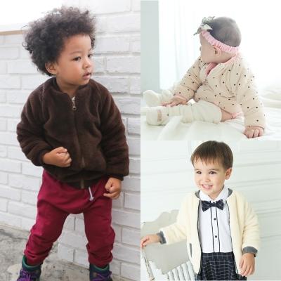 baby童衣 保暖羊羔絨素面兒童外套 60204