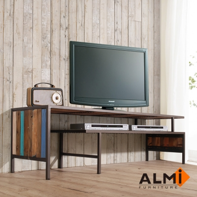 ALMI-RACK TV 2 LEVELS 伸縮電視櫃W160-260*D45*H45CM