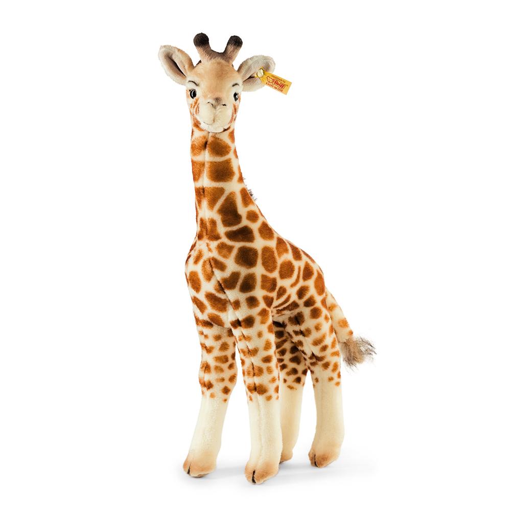 STEIFF德國金耳釦泰迪熊 - Bendy Giraffe (動物王國)