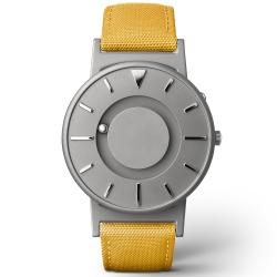 EONE 美國設計品牌 Bradley 觸感腕錶-芥末黃/40mm