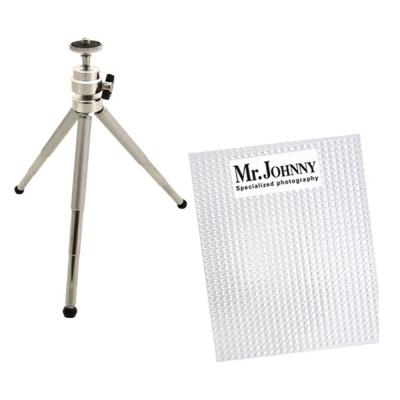 [喬米先生]拍出好看照片組- Mini攜帶式專業鋁合金五節迷你腳架+白平衡校正濾...