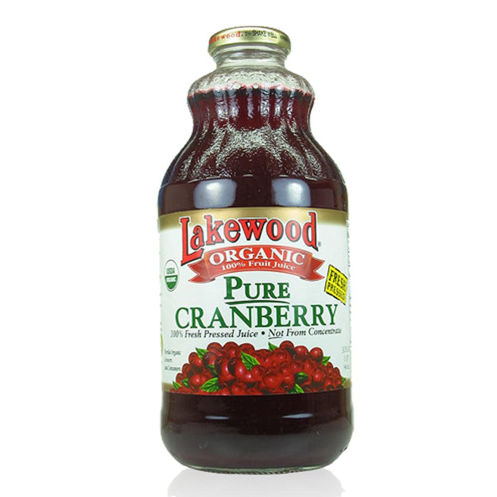 《O'natural 歐納丘》有機鮮榨純蔓越莓果汁(32OZ)