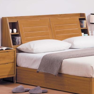 H-D-米提系列柚木色5尺床頭箱