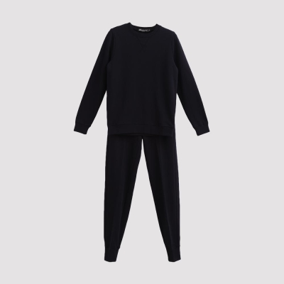 Hang Ten - 女裝 - 素面純色舒適運動套裝 - 黑