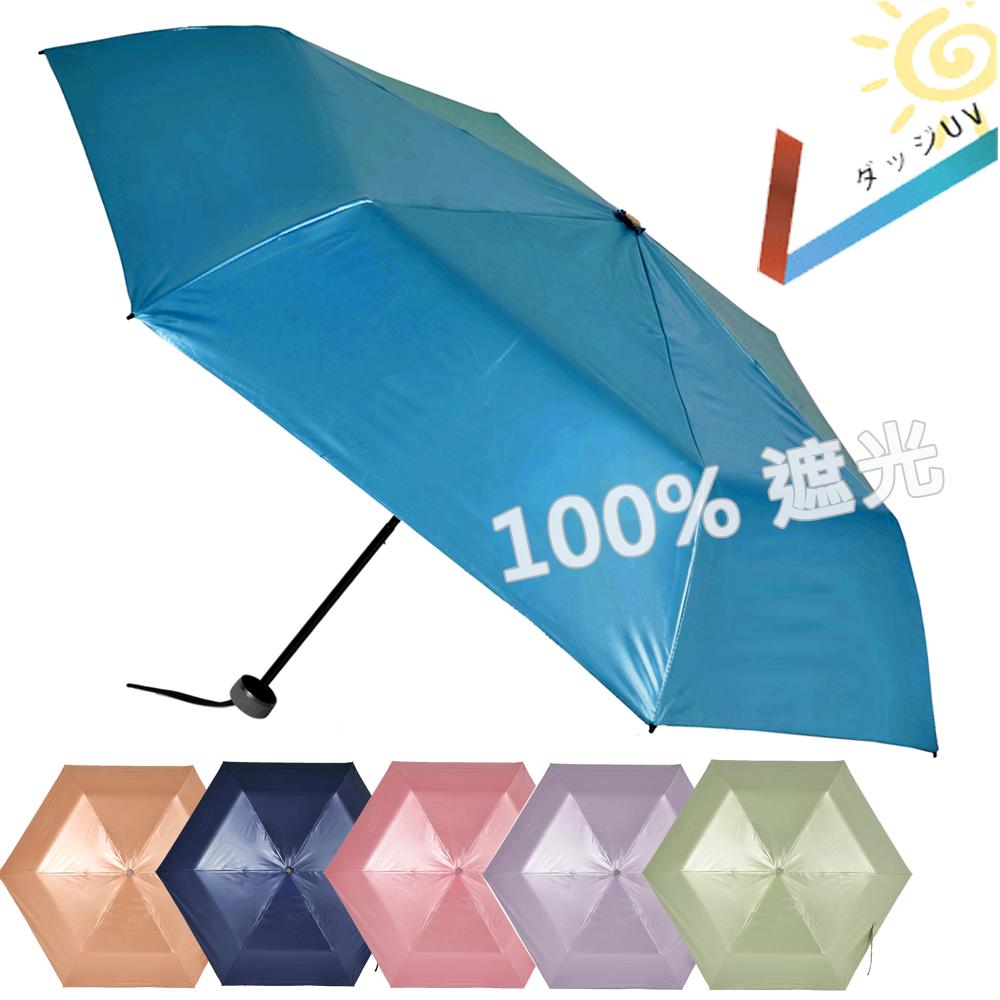 2mm 第二代 100%遮光降溫 超輕量折傘 (超值2入組)