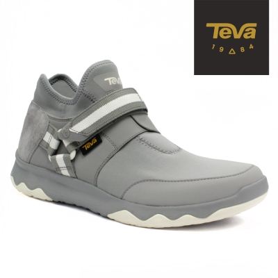 TEVA 美國 Arrowood Evo WP 男 輕量休閒鞋 (海豚灰)
