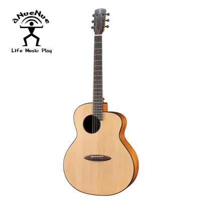 aNueNue L12E 羽毛鳥面單鋼弦電民謠木吉他
