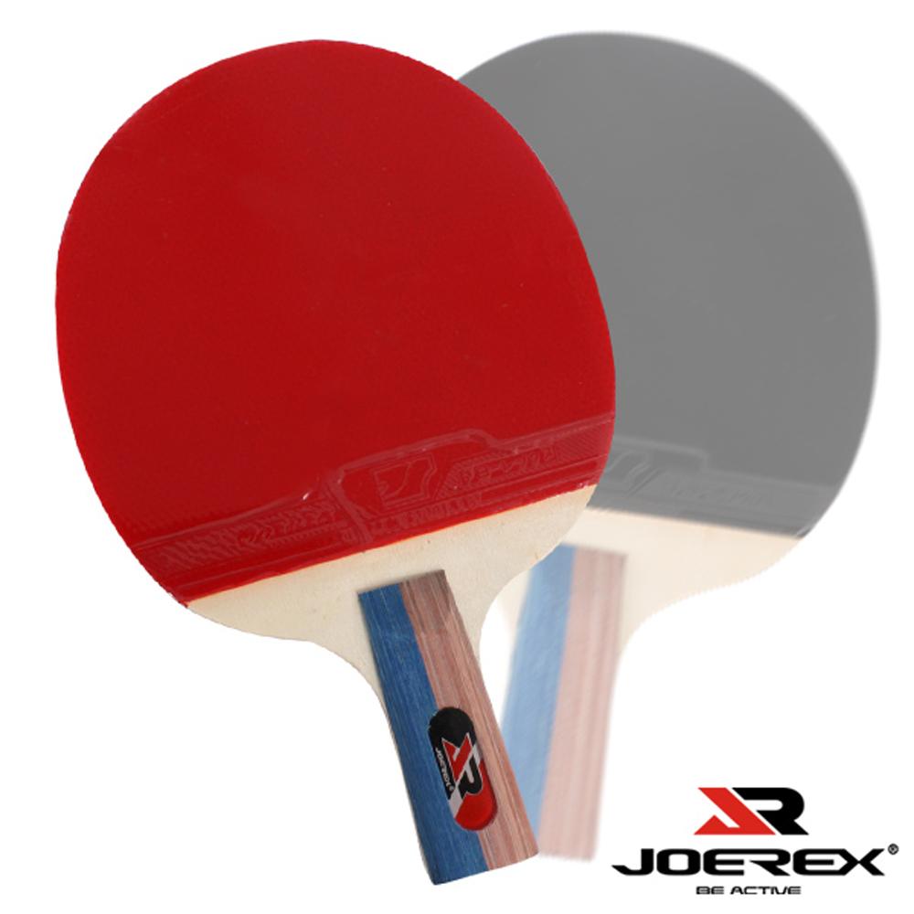 JOEREX。一星短柄雙反膠乒乓拍/桌球拍(J111)2入1組