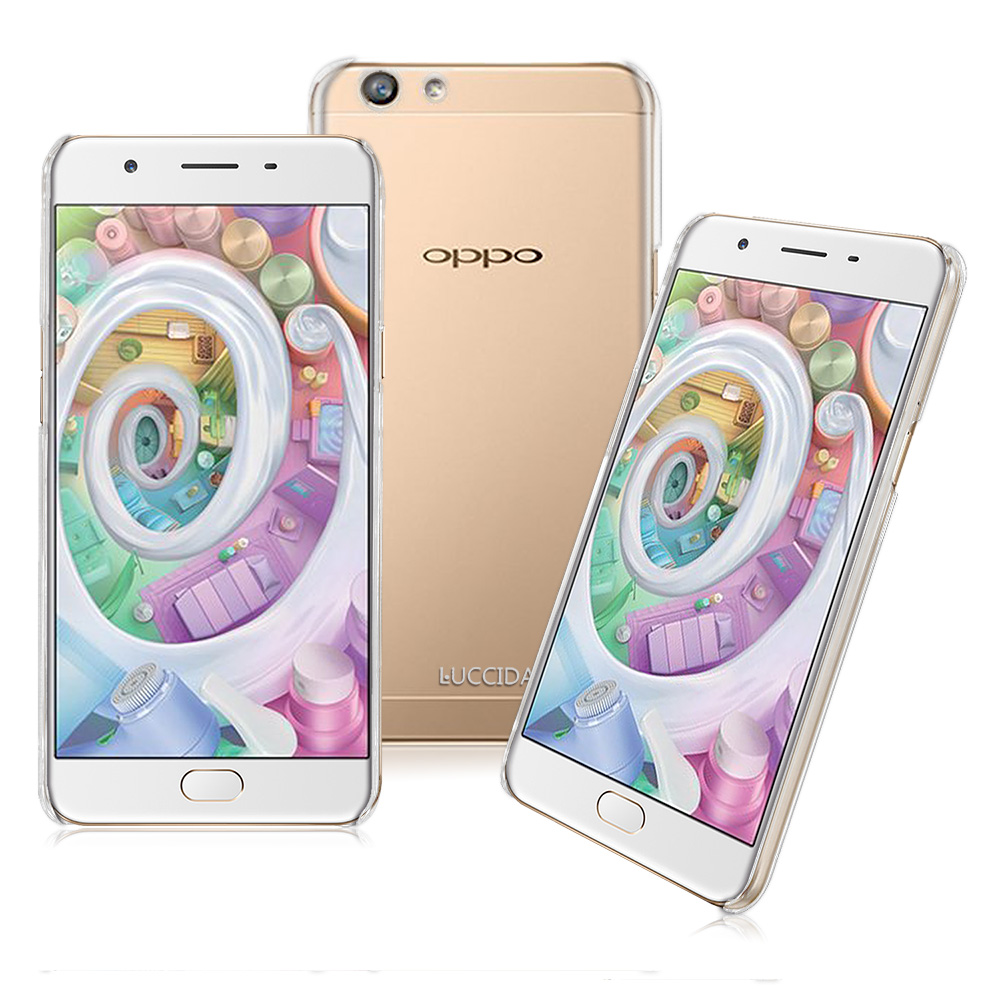 LUCCIDA OPPO F1s全透明加強抗刮保護殼