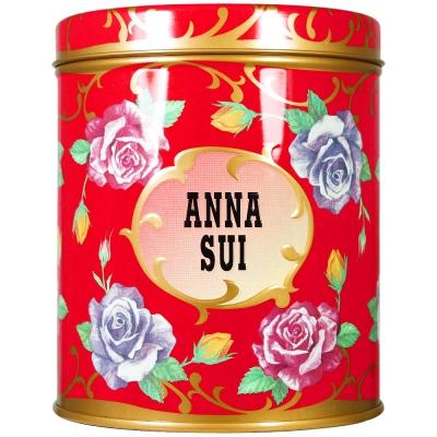 ANNA-SUI-安娜蘇-精巧薔薇收納罐-紅