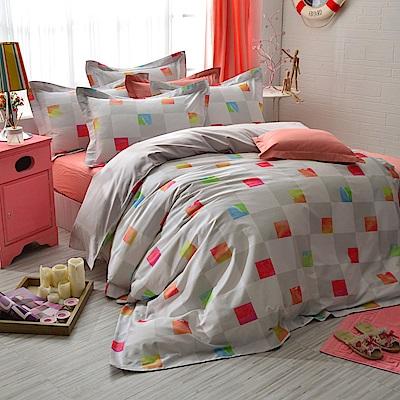 IN HOUSE-Finland color-精梳棉-雙人四件式薄被套組
