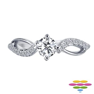 彩糖鑽工坊 19分鑽石 求婚鑽戒 瑪莉公主系列