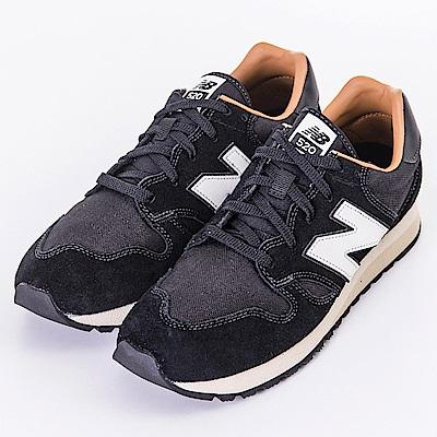 New Balance-男女休閒鞋U520BH-黑