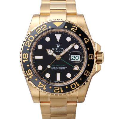 ROLEX勞力士GMT Master II 116718LN 18K金腕錶-40mm